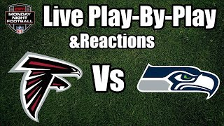 Falcons vs Seahawks | Live Play-By-Play & Reactions