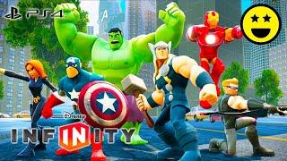 Gli AVENGERS - Giochi di Supereroi di Cartoni Animati in Italiano per Bambini Disney Infin ...