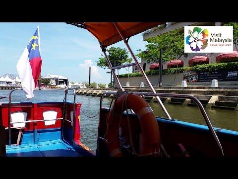 Visit Malaysia - Melaka River Cruise ★Historic Place★ ★Tourism★