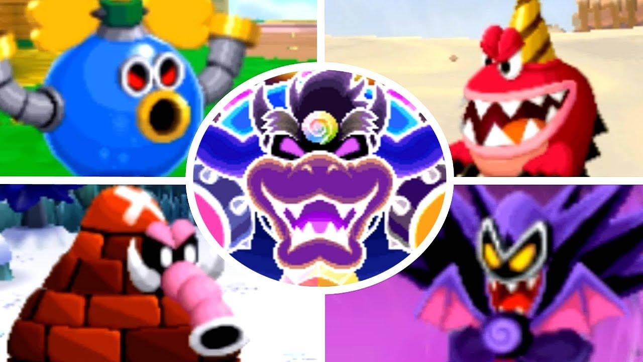 Mario Luigi Dream Team All Bosses No Damage