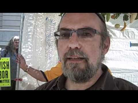 Jewish Groups Rally in Sukkah at Occupy Los Angeles
