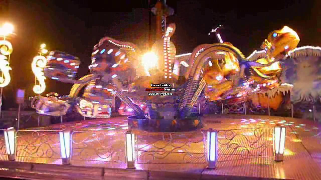 Man ge la pieuvre la nuit au jard st dizier youtube for Foire de saint dizier