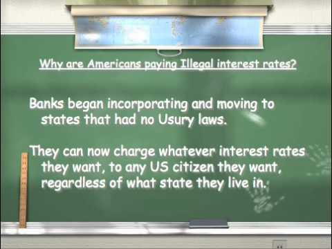 Why Americans are paying ILLEGAL interest rates