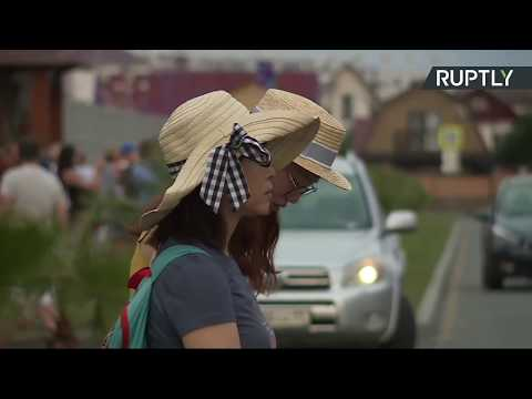 Сборная России по футболу прибывает в Сочи