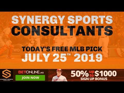 Repeat Free MLB Baseball Sportsbetting Prediction for Thursday July