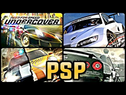 All Need For Speed Games For PSP (PPSSPP)