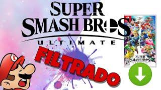 Super smash Bros ultimate filtrado listo para descargar e instalar en tu nintendo switch