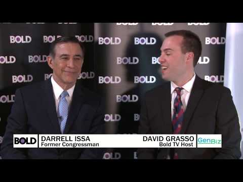 Fmr. Congressman Darrell Issa: 'The Trump Economy is Outrunning the Rest of the World'