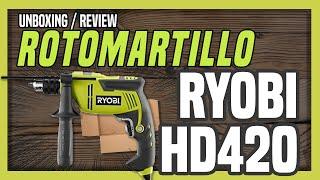 Unboxing Taladro Ryobi HD420 (Home Depot)