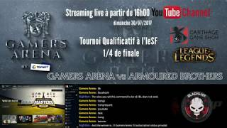 #CGS Qualifications 1/4 : Gamers Arena (0) vs (2) Armoured Brothers BO3