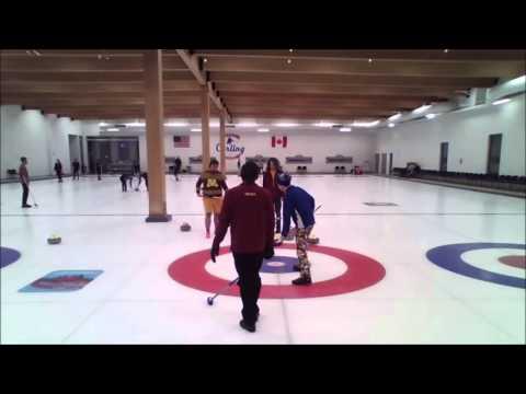 USA College Curling Championship 2016 - Hamilton vs. Minnesota (Draw 3B)