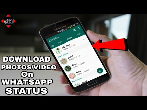 How To Download/Save Photos And Video On Whatsapp Status 🔥