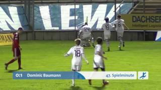 FC Memmingen   - 1.  FC Nürnberg II (Regionalliga Bayern 15/16, 29. Spieltag)