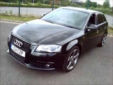 2011 audi a3 sportback 2 0 tdi s line black edition 5dr special edition big spec youtube. Black Bedroom Furniture Sets. Home Design Ideas