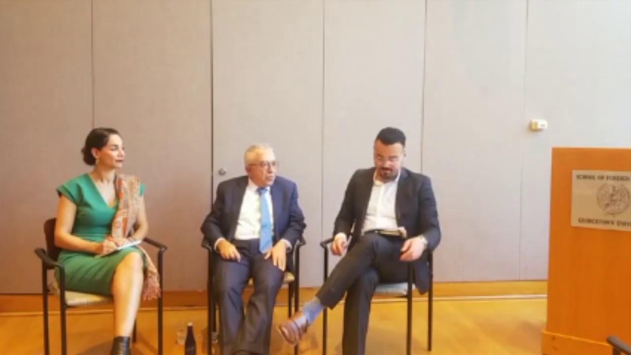A Conversation with Salam Fayyad and Noura Erakat