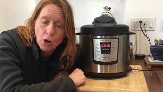 Lesson 4: How to Use Natural Release in an Instant Pot