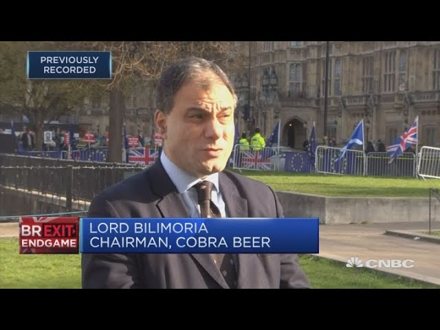 May's Brexit approach is 'my way or the high way': Lord Bilimoria | Squawk Box Europe