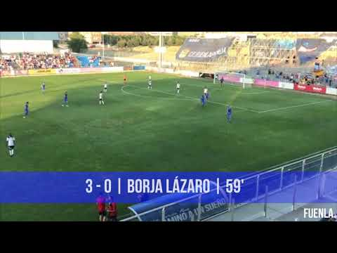 Resumen del CF Fuenlabrada 5-1 Salamanca CF UDS