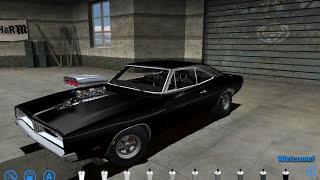 Сборка Dodge Charger R/T 69 Из фильма Форсаж 1