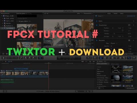 Twixtor final cut pro x crack torrent