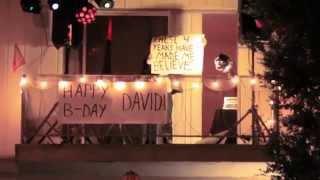 Wedding Proposal... Lucas surprises David