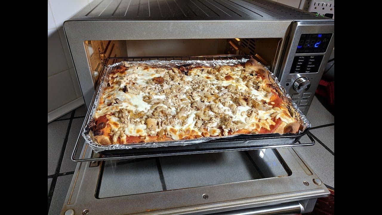 Pizza Recipe Pillsbury Crust Nuwave Bravo Xl Smart Oven