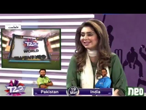 Pak Vs India - World T20 - 19 March 2016 - Neo News Special