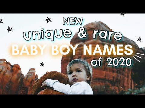 100 RARE & NEW BABY BOY NAMES 2020! | Cool + Unique Boy Baby Names I Love But Wont Be Using!