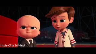 Boss Baby Hindi Action Scene   Saving Parents and  Puppies 11 12   Movie Clips In Hindi _ MA lovers
