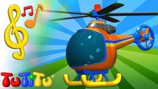 Piosenki po angielsku dla dzieci | Helikopter | Nauka angielskiego dla dzieci