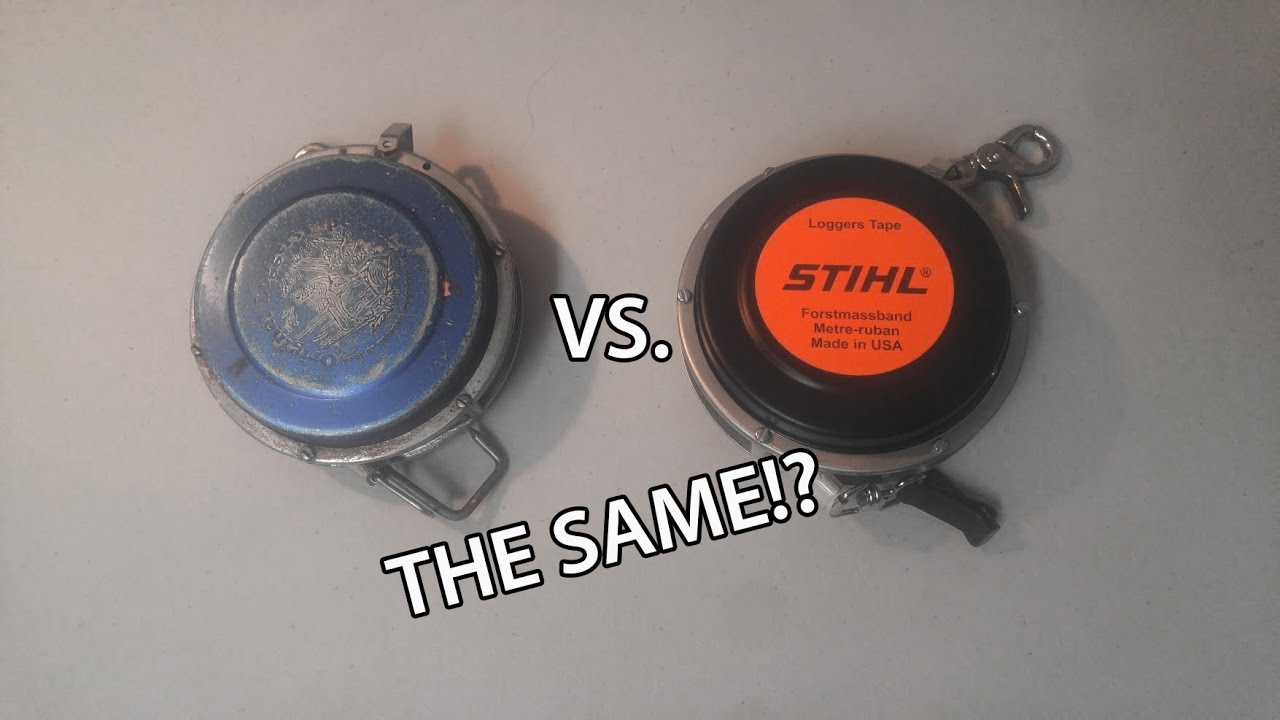 Tool Review: Spencer VS Stihl Loggers Tapes - YouTube