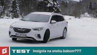 OPEL Insignia GSi Sports Tourer 4x4 - TEST - GARÁŽ.TV