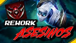 REWORK a los ASESINOS ¿El LoL CAMBIA? | Noticias League Of Legends