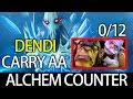 Dendi Counter Alchemist with Carry MID AA 7.03 META Ranked Dota Gameplay