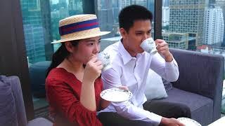 Hendrick's Gin Afternoon Tea at CHAR Bangkok