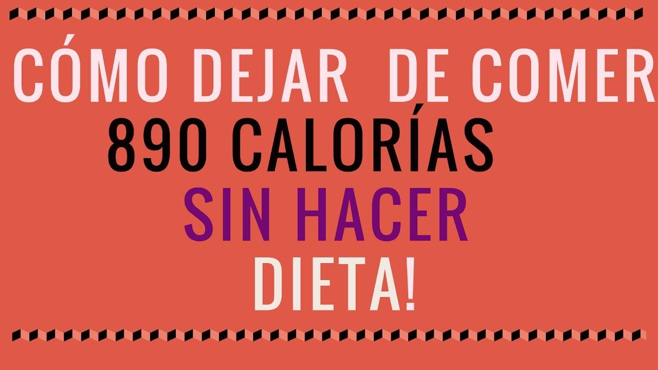 dieta 800 calorias diarias para adelgazar