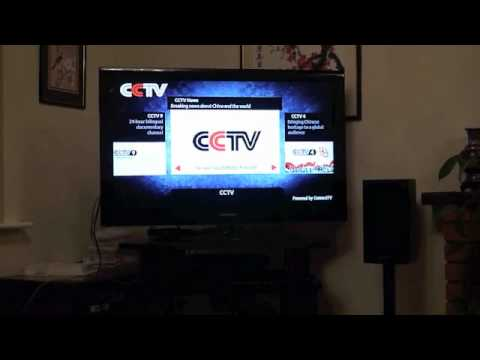CCTV/Chinese TV via UK Freeview HD