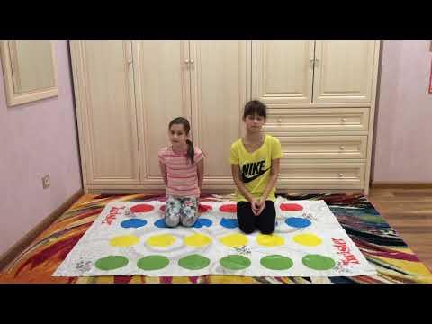 Челлендж гимнастика — играем в Twister