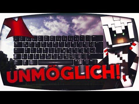 UNMÖGLICHE BedWars CHALLENGE mit minimichecker [Tastatur umstellen]