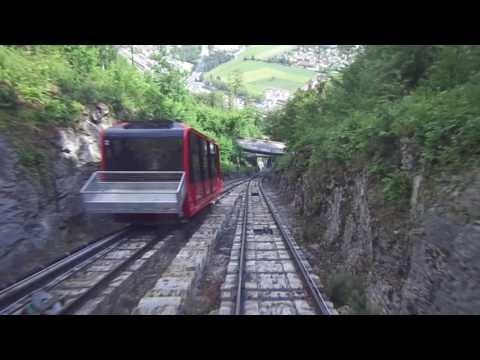 Harder Kulm Cable Car AT SWITZERLAND | FRANCE | PARIS part 2