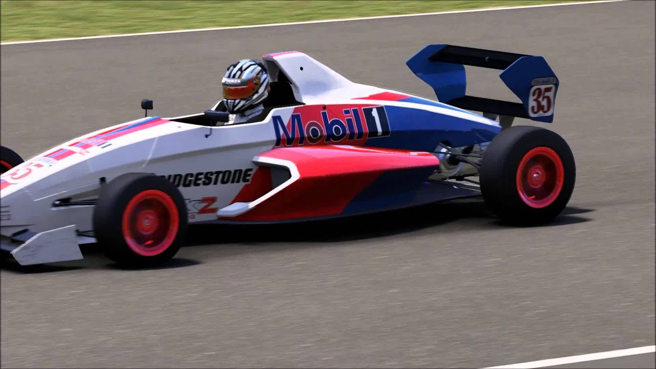 Forza 6 F1 times at Indy Formula Ford Ecoboost 200