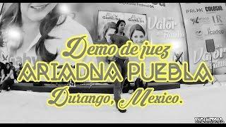 ARIADNA PUEBLA (Danza Contemporánea)  || Demo de Juez || FIGHTDEBUT2
