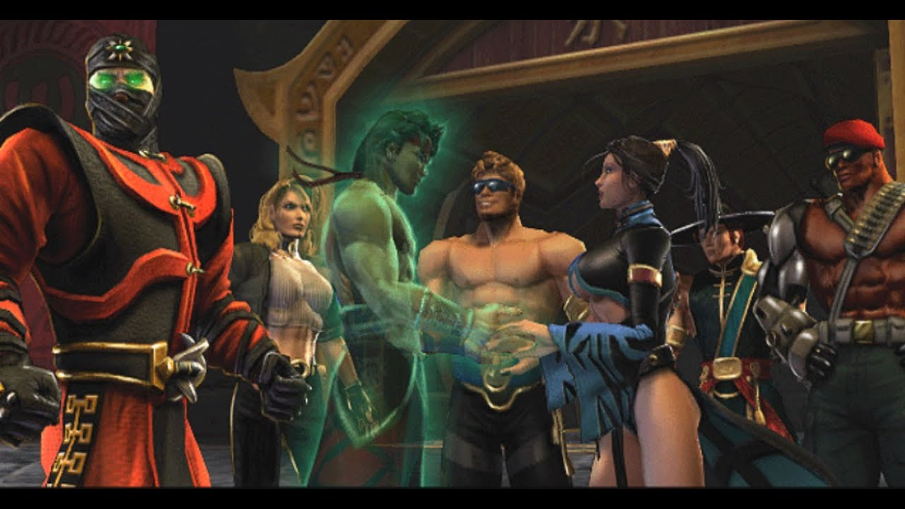 Mortal kombat kitana and liu kang love - photo#8