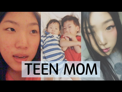 KOREAN TEEN MOM - BEING HONEST WITH YOU GUYS  - Day in a Life [Nov 2016]