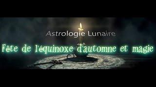 Fête de l'équinoxe d'automne et magie
