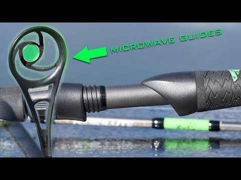 NEW KastKing RESOLUTE FISHING RODS - AMERICAN TACKLE MICROWAVE Guides!