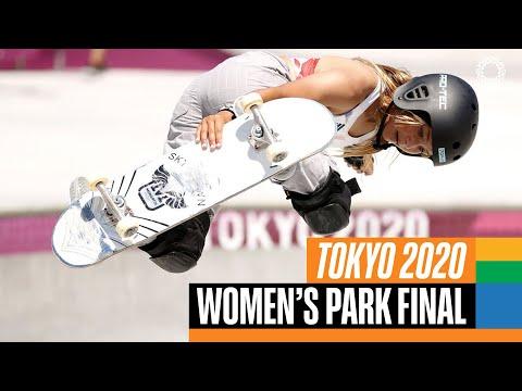 Full Skateboarding Women's Park Final | Tokyo Replays