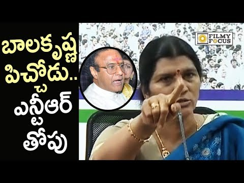 Lakshmi Parvathi Sensational Comments on Balakrishna and NTR - Filmyfocus.com