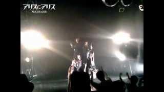 2012年12月26日渋谷Glad アリスインアリス新曲『コールドバレット』発表...