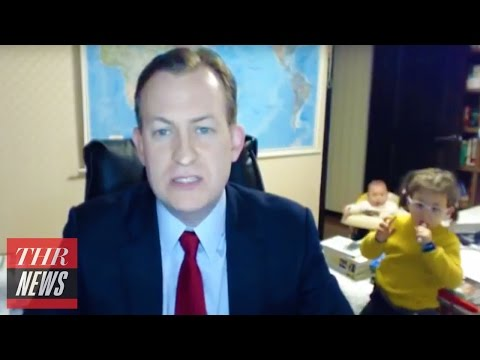 Thumbnail: A Full Play-By-Play of Toddler Crashing Father's BBC News Interview | THR News